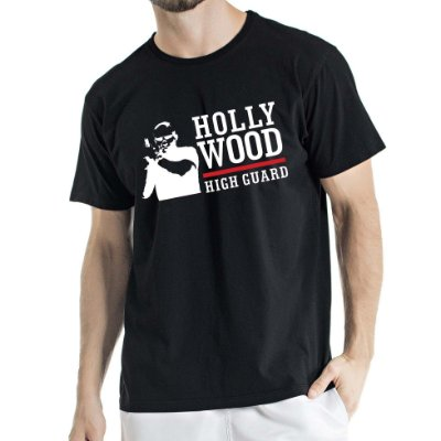 Camisa Estonada hollywood Humberto Wendling Preta