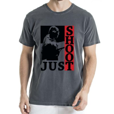 Camisa Estonada Just Shoot Humberto Wendling Chumbo