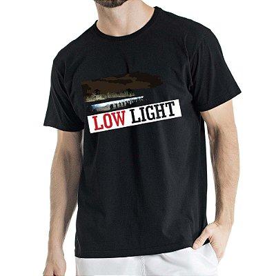 Camisa Estonada Low Light Humberto Wendling Preta