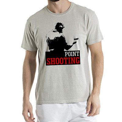 Camisa Estonada Point Shooting Humberto Wendling Cinza