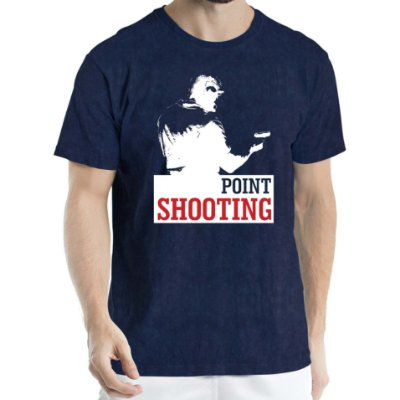 Camisa Estonada Point Shooting Humberto Wendling Marinho Sky