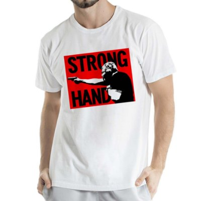 Camisa Estonada Strong HandHumberto Wendling Branca