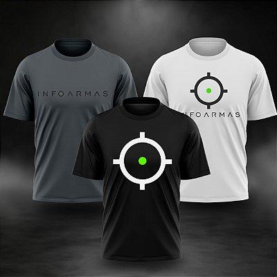 Kit 3 Camisetas InfoArmas Classico
