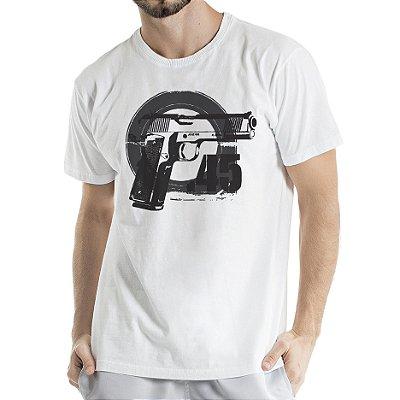 Camisa Estonada 45 Motivos Branca