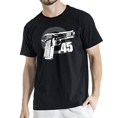Camisa Estonada 45 Motivos Preta
