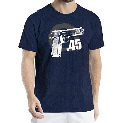 Camisa Estonada 45 Motivos Sky Marinho