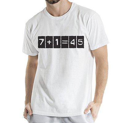 Camisa Estonada 7+1 Motivos Branca