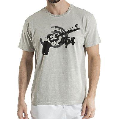 Camisa Estonada 454 Cinza