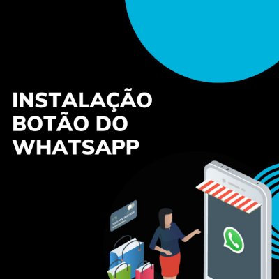 Instalação botão do WhatsApp
