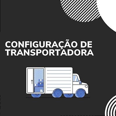 Configuração de transportadora