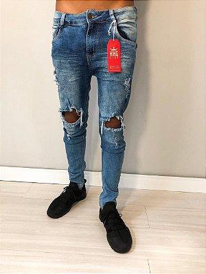 Calça jeans Free red