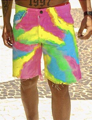 Bermuda curta Tie Day