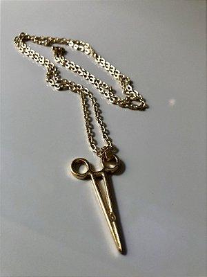 Cordão gold tesoura