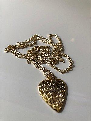 Cordão gold palheta