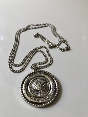 Cordão níquel medalha