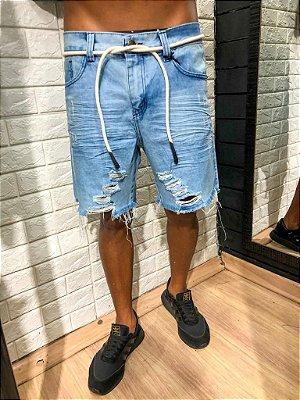 Bermuda curta jeans Alemanha