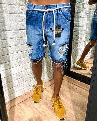 Bermuda curta jeans Australia