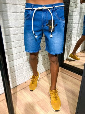 Bermuda curta jeans Cuba