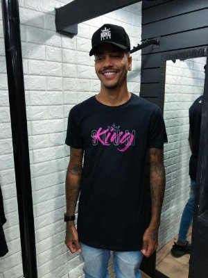 Blusa estampa king