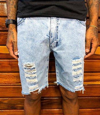 Bermuda curta jeans Honduras