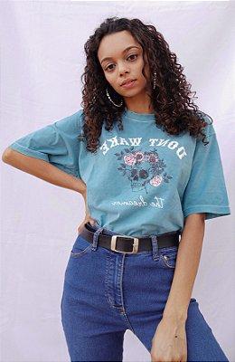 T-shirt Azul - Dont Wake