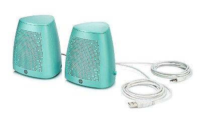 Caixa De Som HP S3100 USB Verde