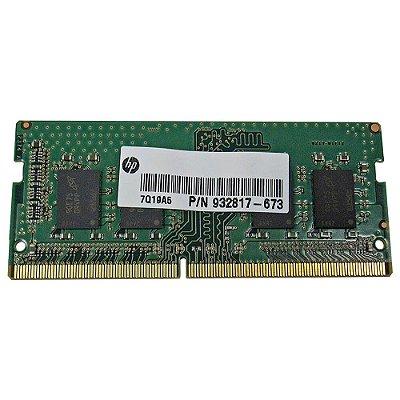 HP Memoria DDR4 8GB 2666 MHz SODIMM