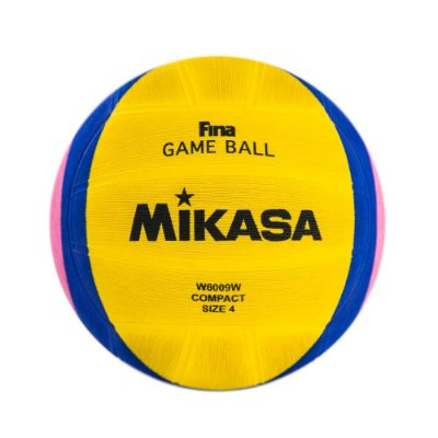 Bola Oficial de Polo Aquático Mikasa W6009W - Aprovada pela FINA