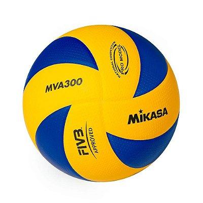Bola Oficial de Voleibol Mikasa MVA300 - Padrão FIVB
