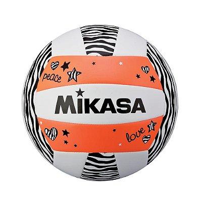 Bola de Vôlei de Praia Mikasa VXS ZB - Laranja - Padrão FIVB
