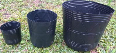 Vaso Ecológico Material 100% Reciclado 1 Litro / 1,6 Litros / 4 Litros / 14 Litros / 25 Litros