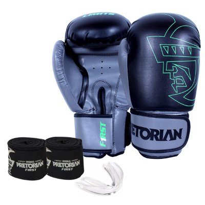 KIT DE BOXE/MUAY THAI PRETORIAN FIRST  PRETO