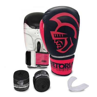 KIT BOXE/MUAY THAI PRETORIAN PERFORMANCE ROSA
