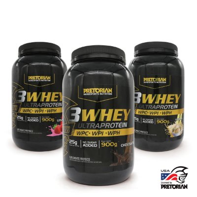 KIT SABORES  3WHEY ULTRA PROTEIN 900GR