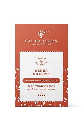 Condicionador Sólido Henna & Karité 100 g