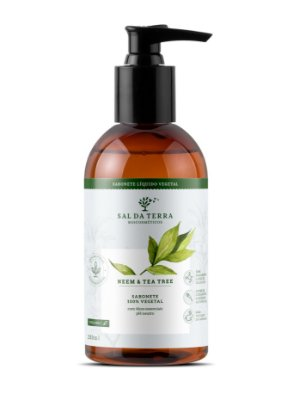 Sabonete Líquido Neem e Tea Tree 250 mL