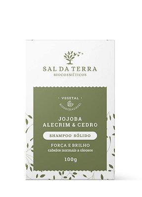 Shampoo Sólido Jojoba, Alecrim e Cedro