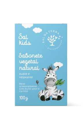 Sabonete Infantil Camomila e Lavanda 100 g