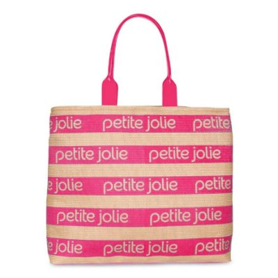 Bolsa Petite Jolie Summer PJ4724 Natural/Pink