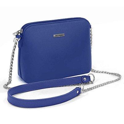 Bolsa Sweet Chic Paris Azul Escuro Fosca