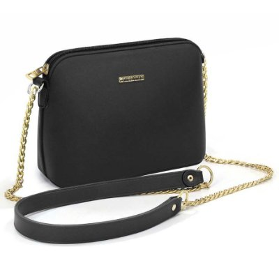 Bolsa Sweet Chic Paris Preto Fosca