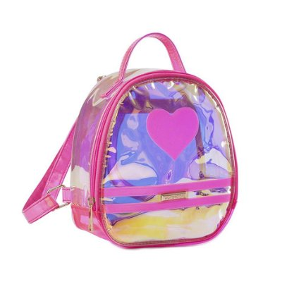 Bolsa Infantil World Colors Amora Lilas-Espelhada
