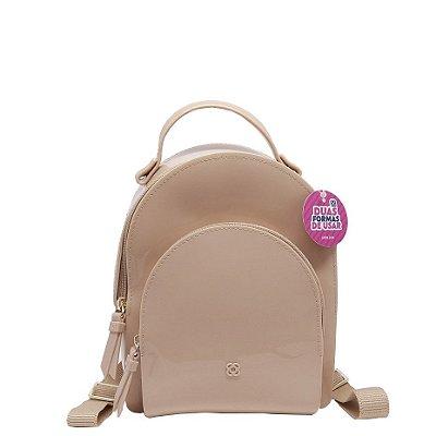 Mini mochila Petite Jolie Little PJ4406 Nude
