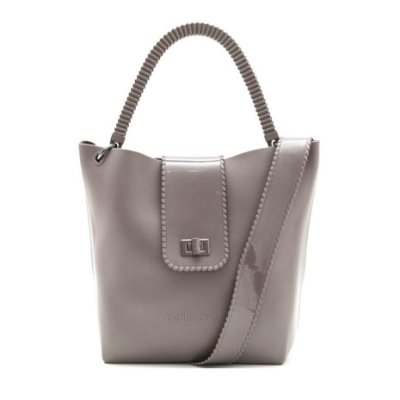 Bolsa Petite Jolie City Bag PJ3692 Cinza