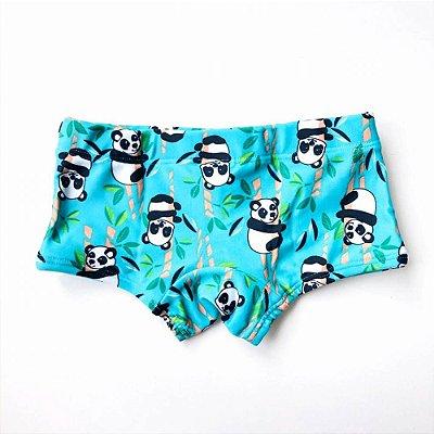 Sunga Infantil Panda