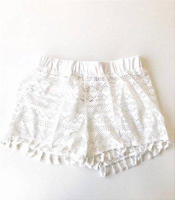 Shorts Renda com Franja
