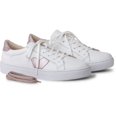 TÊNIS IT – ESSENCE COURO WHITE / ROSE