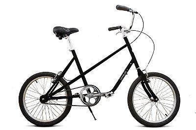 Bicicleta Nimbus Quadra Preta Fosca