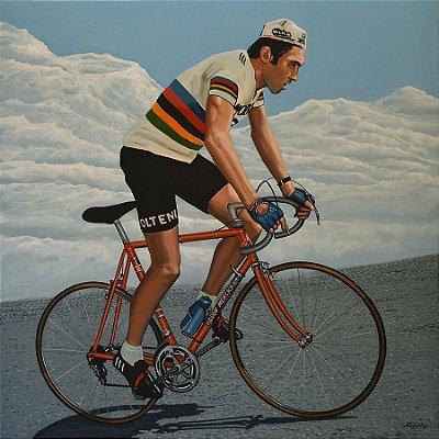 Quadro de Madeira Eddy Merckx