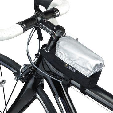 Bolsa de quadro Tribag com capa de chuva Topeak